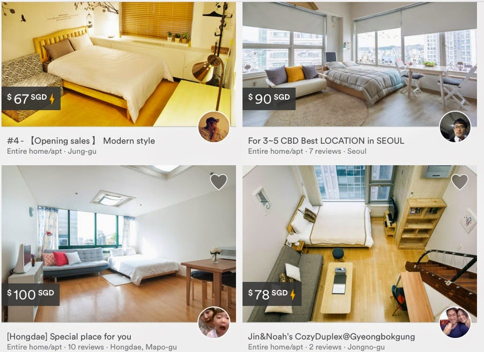 Airbnbs in Seoul