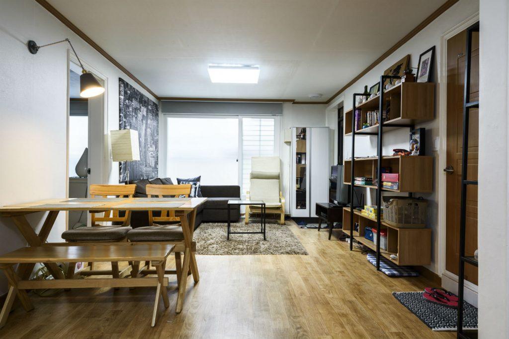 Simple Spaces modern living room