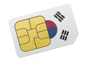 This is a sim card you can purchase in South Korea